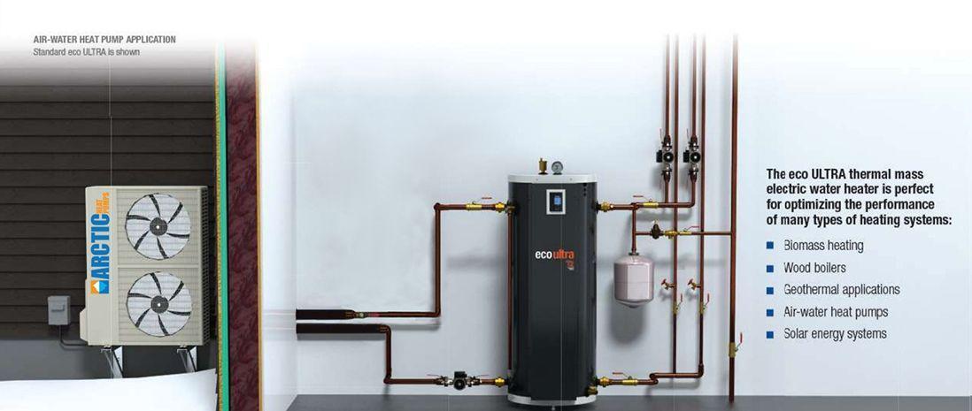 Eco ULTRA  Heat    Pump    Buffer Tanks  Arctic Heat Pumps