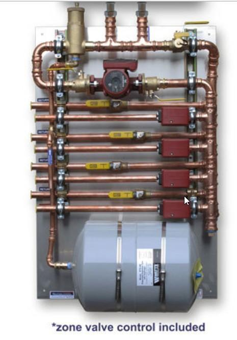 Pre-Fab Pump Panels – Zone Valves