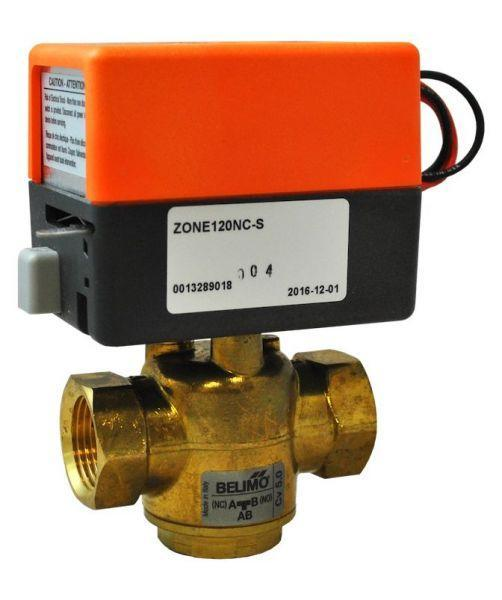 Belimo Automatic 3-Way Diverter Valve 1