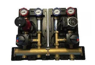Manifold pump station
