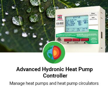 Advanced Hydronic Heat Pump Controller