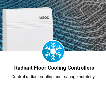 Radiant Floor Cooling Controllers