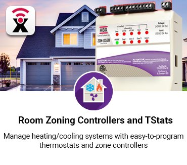 Room Zoning  Controllers and TStats