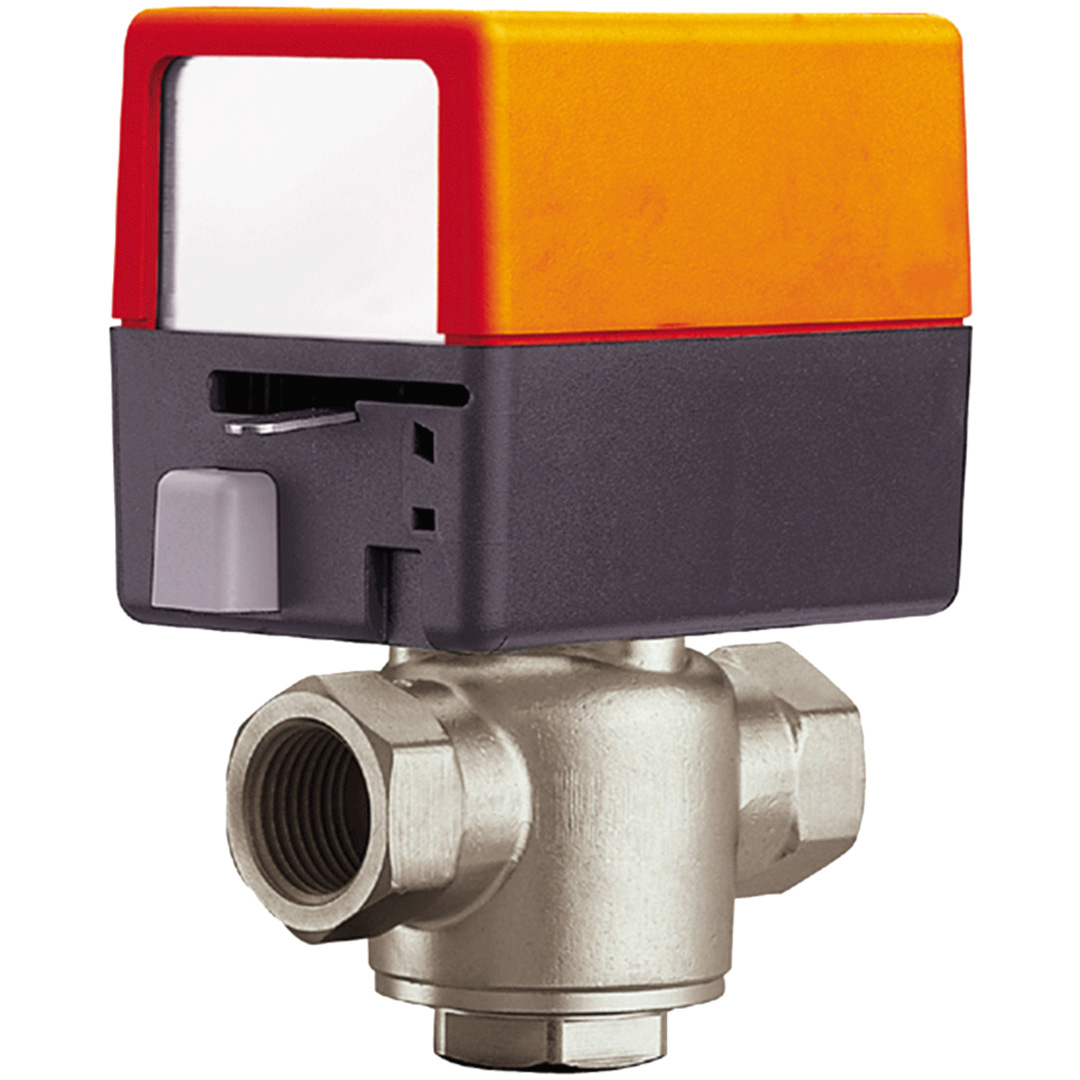 Belimo 3 way Valve - Automatic Diverter Valve - 1