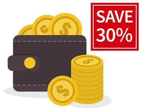 Energy Saving up to 30%
