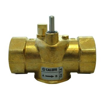 Caleffi Z-one - 1 NPT 2-way Straight Valve Body for Motorized Zone Valves