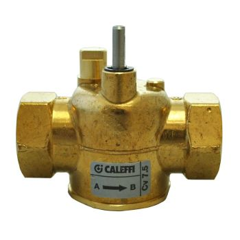 Caleffi Z-one - 3/4 NPT 2-way Straight Valve Body for Motorized Zone Valves