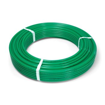 Radiant Piping 1000 X 1/2 - Vipert PE-RT with Oxy Barrier - Green