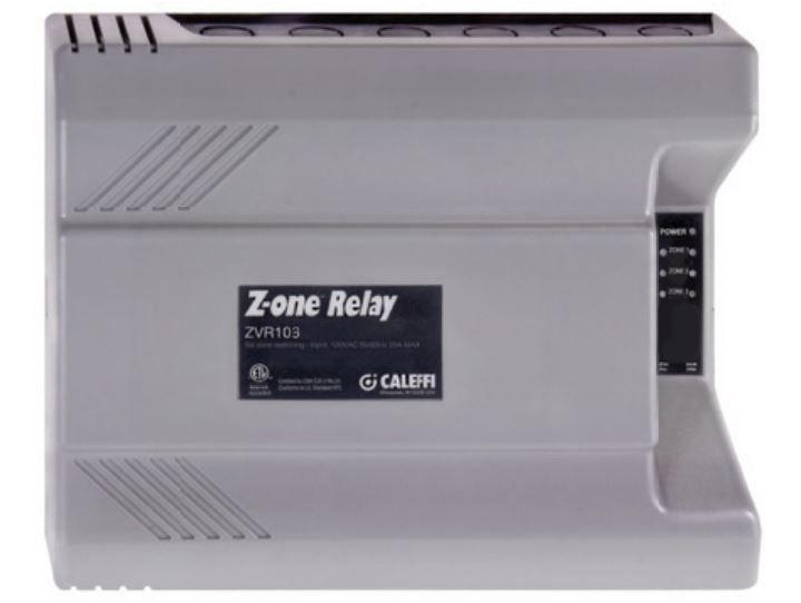 Caleffi ZVR103 - Z-one™ Relay (three zone)