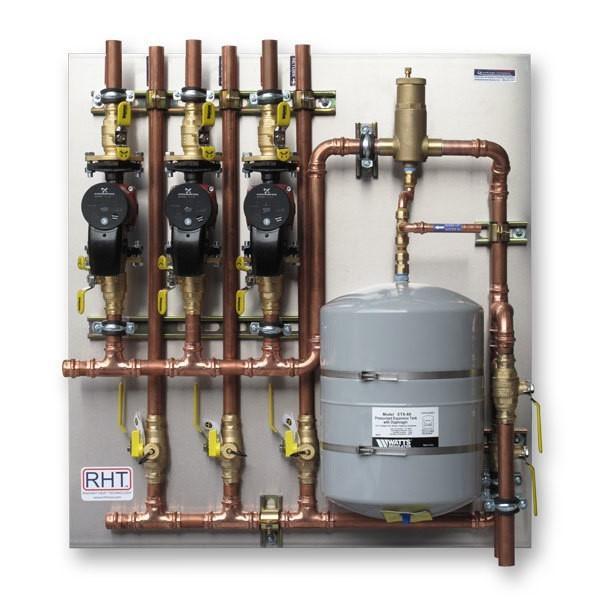Pre-Fab Pump Panels – ECM pumps