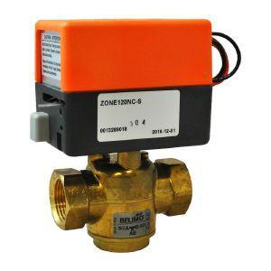 "Belimo Automatic 3-Way Diverter Valve 1"" FTP"