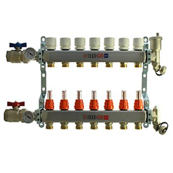 7 Port Manifold with 1/2