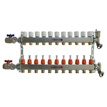 11 Port Manifold with 1/2