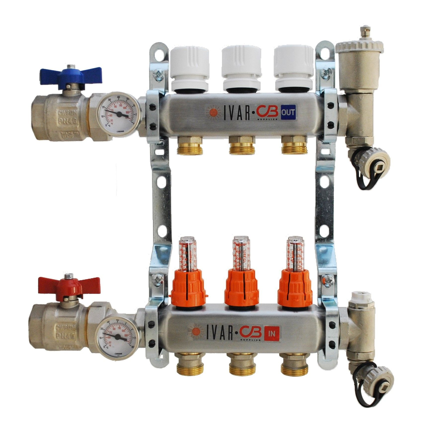 IVAR RADIANT FLOOR HEATING MANIFOLD 1