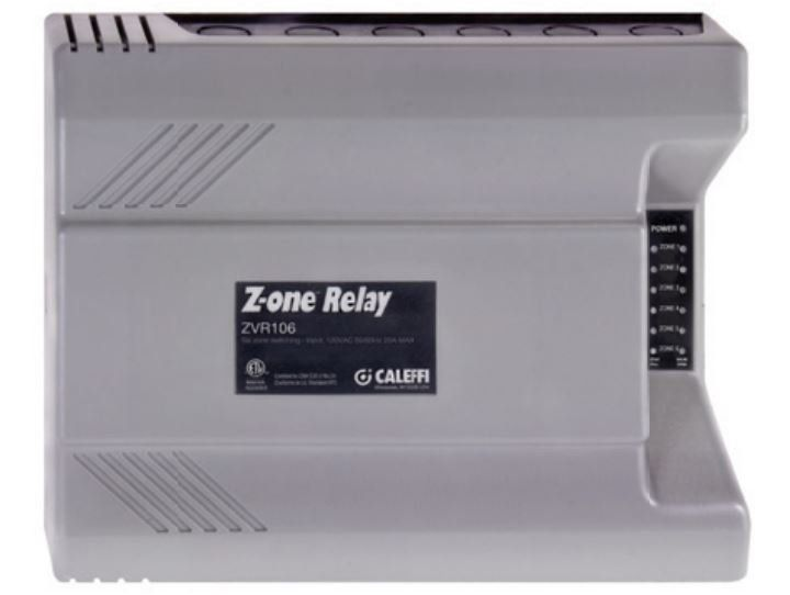 Caleffi ZVR106 - Z-one™ Relay (six zone)
