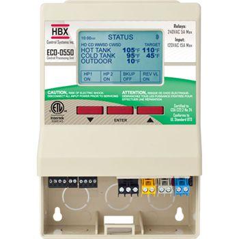 Advanced Heat Pump Controller - HBX ECO-0550