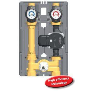 "PAW Hydronic Heating Pump Station K33-1"" With Thermostatic Mixing Valve"