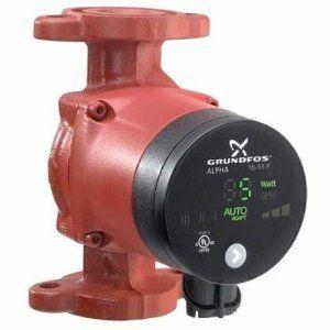 Grundfos Alpha 15-55F/LC Variable Speed Circulator Pump with Chord - 59896832