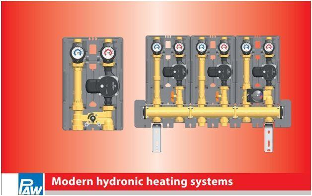 modern hydronic heating system