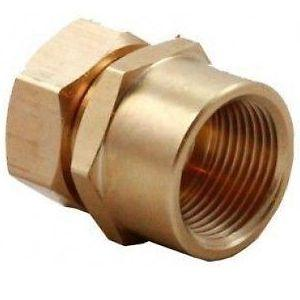 "Solar Pipe Fitting -Aurora 3/4"" to 1"" FPT Adapter"
